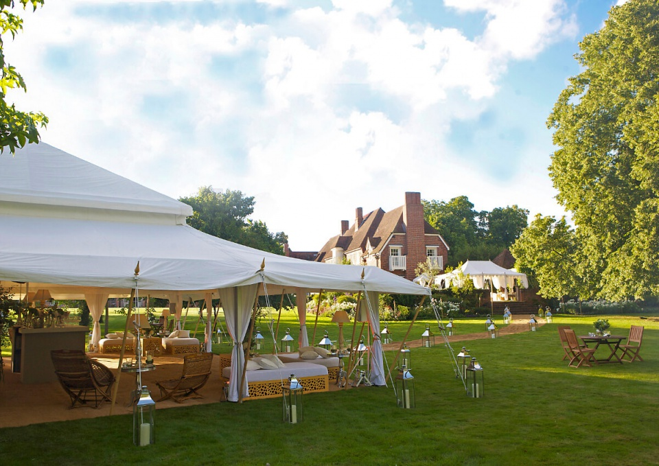 Garden Party Tent Hire Services