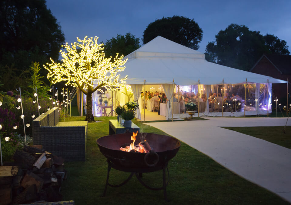 Small Garden Amp Wedding Party Tent Mini Pearl The Pearl