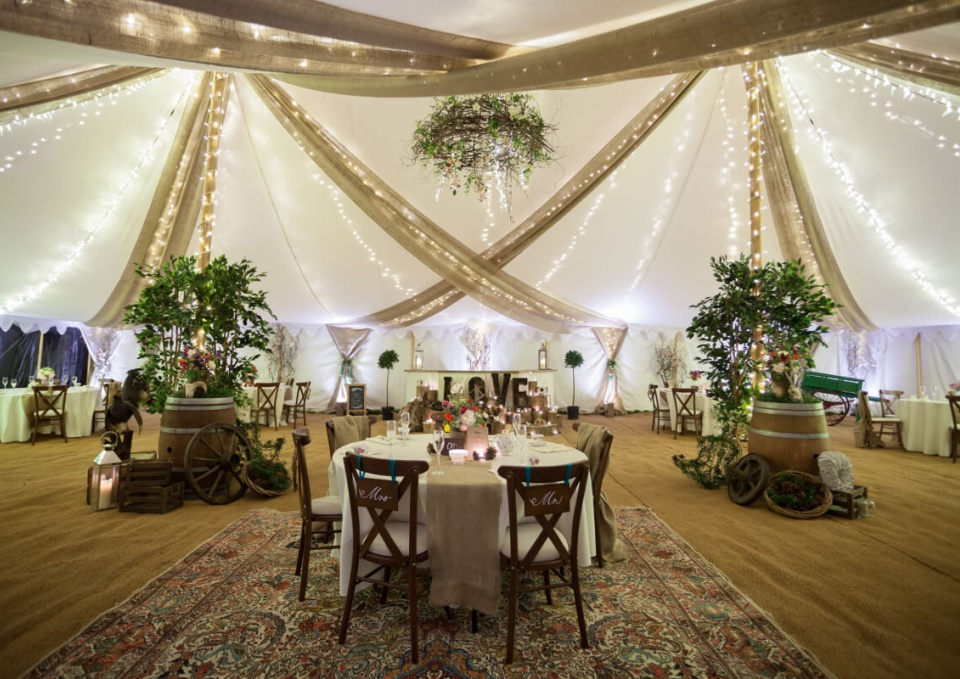 Rustic Tent Wedding