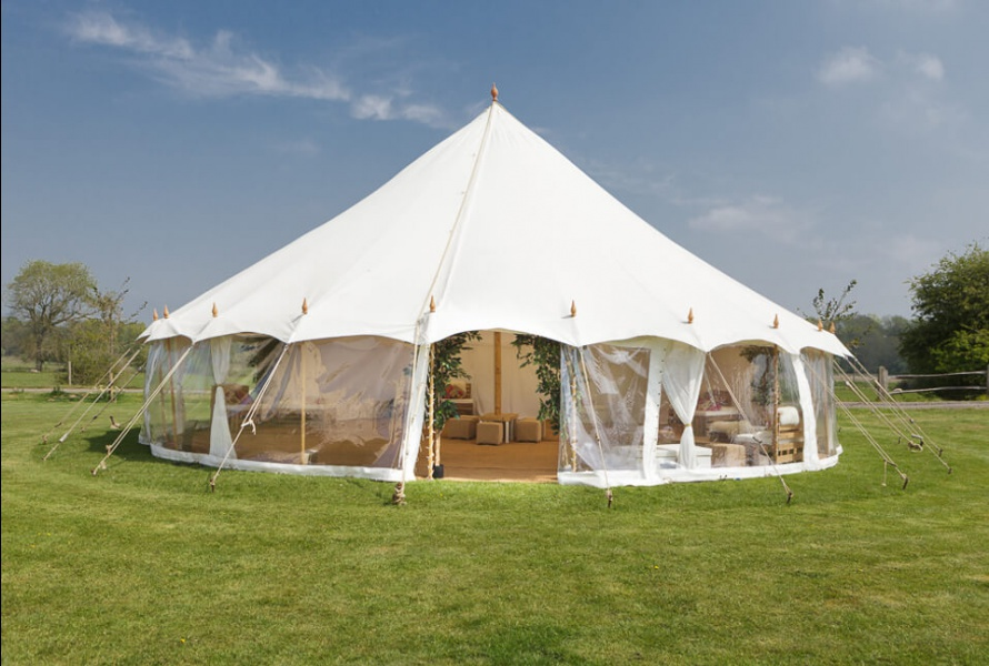 The Round Oyster Tent