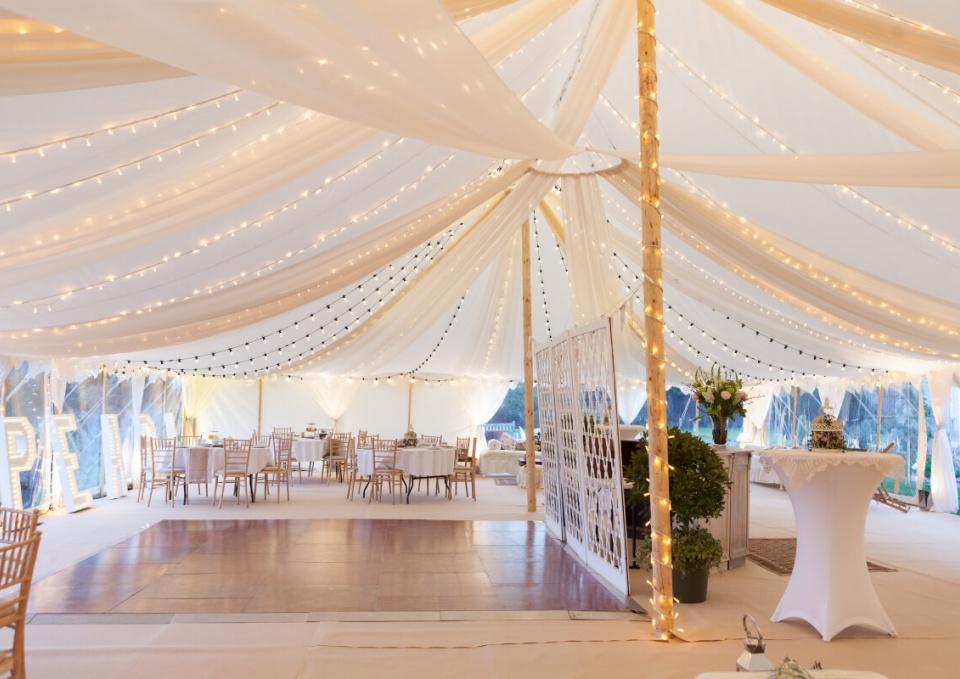 White Wedding marquee